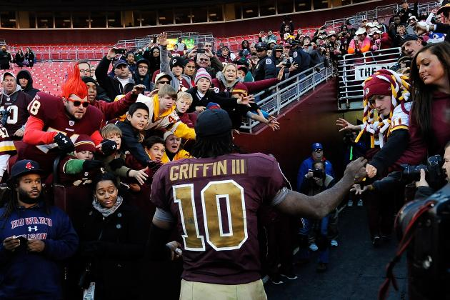 Washington Redskins: Looking at Robert Griffin III's MVP Chances