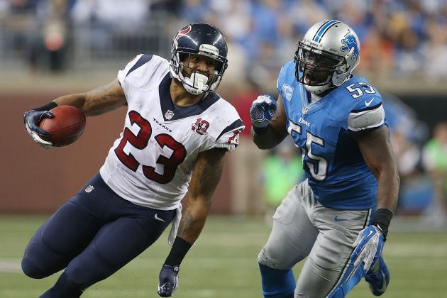 2012 Fantasy Football Running Back Revised Rankings: NFL Week 13