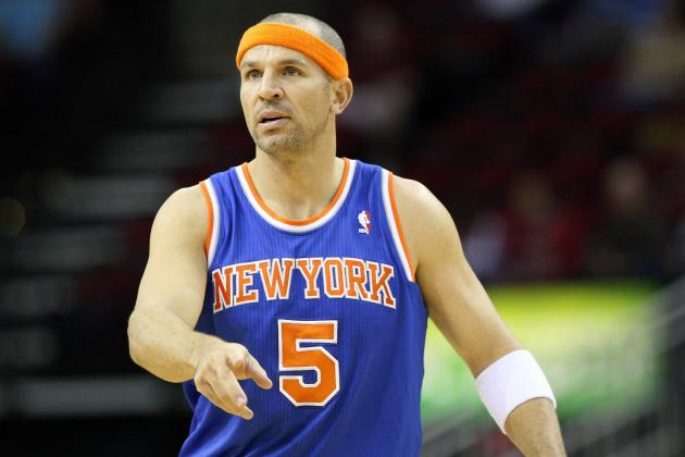 Jason Kidd's Back Injury First Sign Aging New York Knicks Are in Trouble