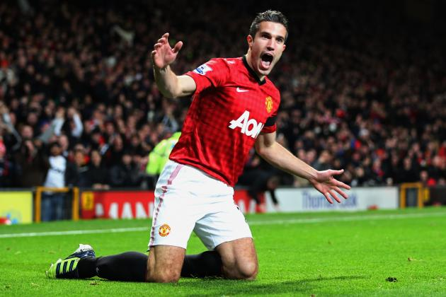 Manchester Utd Would Be 13th in the Premier League Without Robin Van Persie