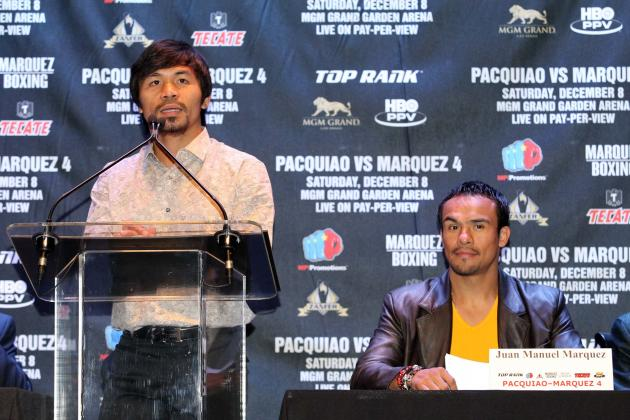 Pacquiao vs. Marquez 4 Predictions: Pac-Man Will Dominate Dinamita Early