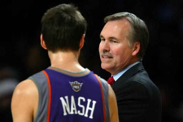 Mike D'Antoni Admits '08 Phoenix Suns Exit a Mistake
