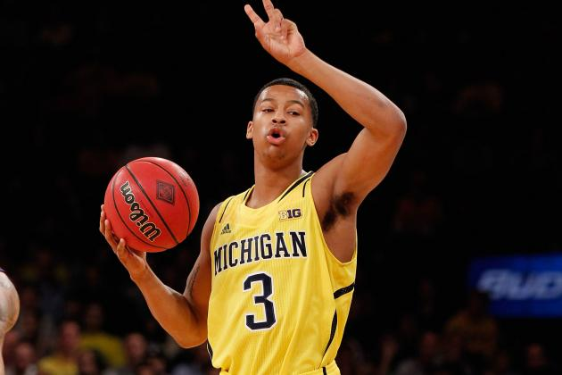 Trey Burke's Draft Stock Seems to Be Rising as Michigan Continues to Win