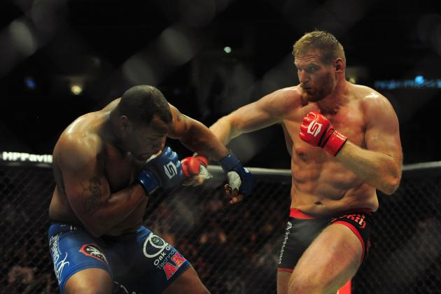 Josh Barnett Gets Main Card Opponent for Strikeforce: Champions Card