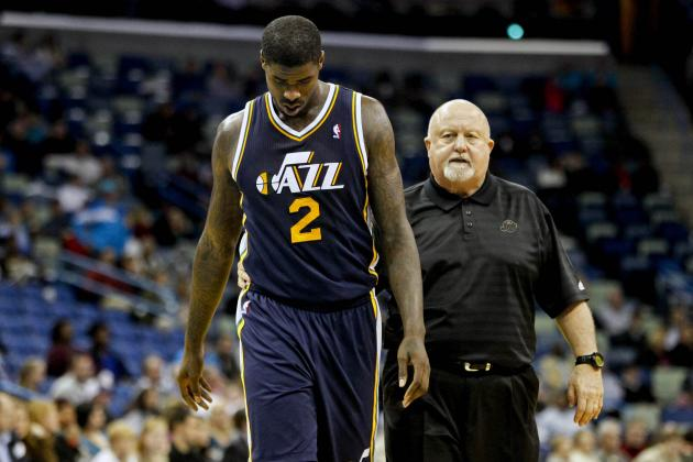 Marvin Williams Being Tested for a Concussion