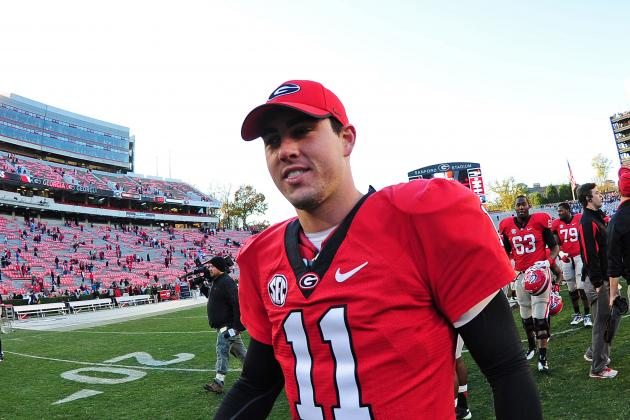 SEC Championship 2012: Aaron Murray's Performance Will Dictate NFL Draft Stock