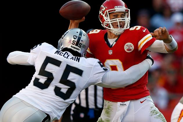 Cutting Rolando McClain: Pros and Cons for Oakland Raiders