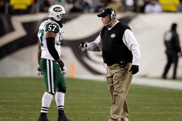 Rex Sets Scott Straight After Jets LB's Fan Rant