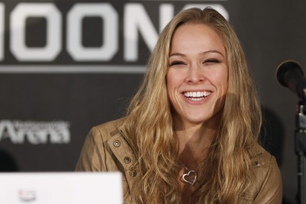 Ronda Rousey Tries to Fit in Healthy Amount of Sex Before Any Fight