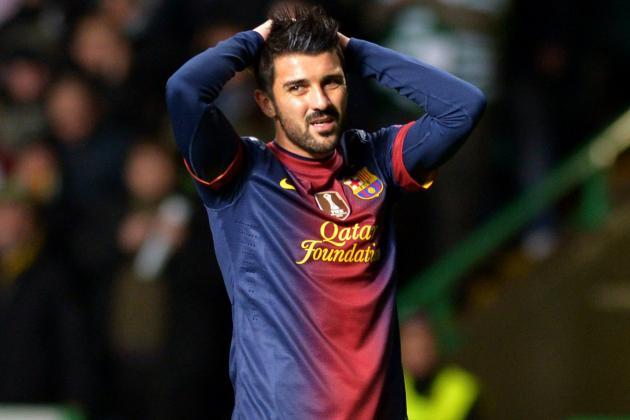 Barcelona 3-1 Alaves: Villa Double