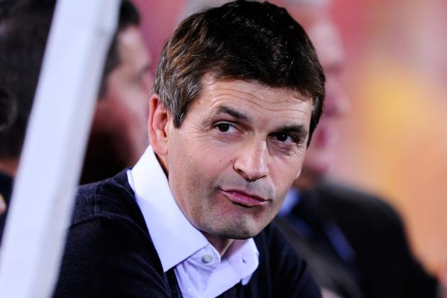 Barcelona's Tito Vilanova Expresses Joy at David Villa Display