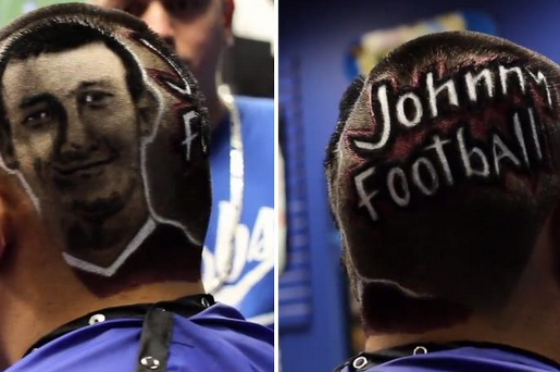 The 'Johnny Football' Haircut