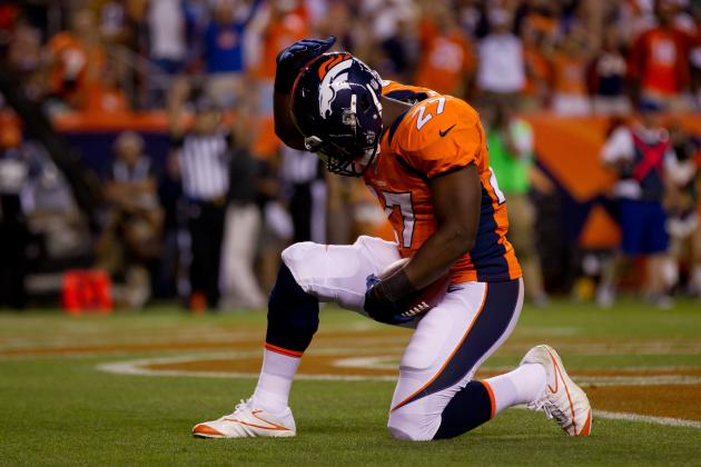 Denver Broncos: What Is Knowshon Moreno's Role in the Running Game?