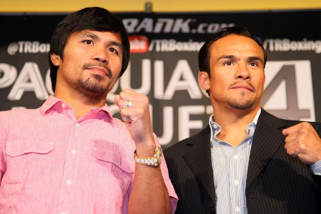 Pacquiao vs. Marquez: Fight Time, Date, Undercard, PPV Info and More