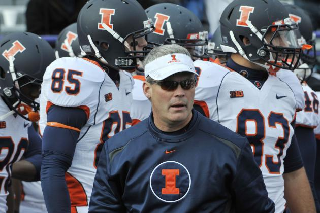 Illinois Football:  Tim Beckman and Illini Are a Long Way from Being Competitive