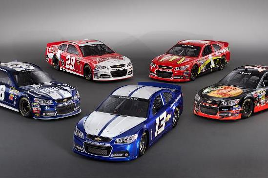 NASCAR Chevy SS: Chevrolet Unveils New Sprint Cup Car for 2013