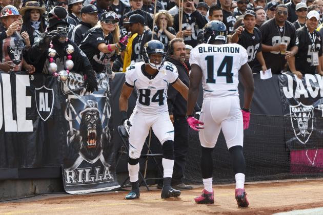 Blackmon, Shorts Sit out Jaguars Practice