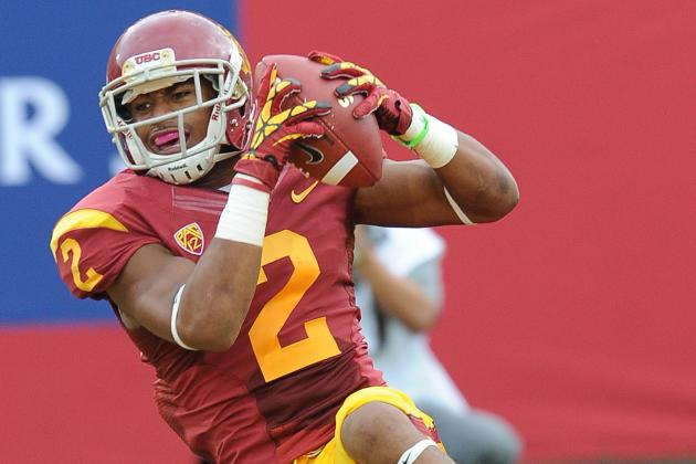 USC Football: Should Robert Woods Enter the 2013 NFL Draft?