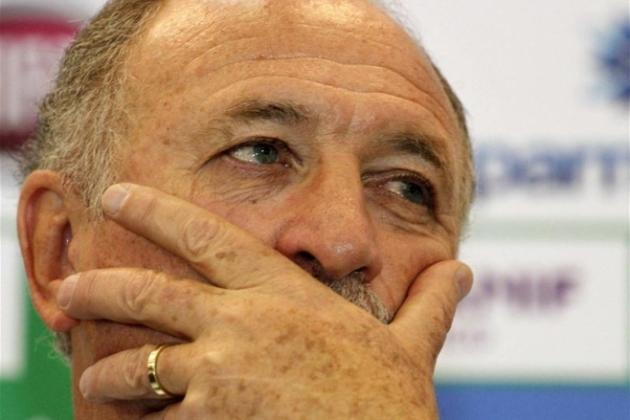 Bad Start for New Brazil Coach Luiz Felipe Scolari