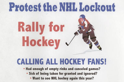 NHL Lockout: Fans Planning Old Fashioned Protest Outside NHL Offices
