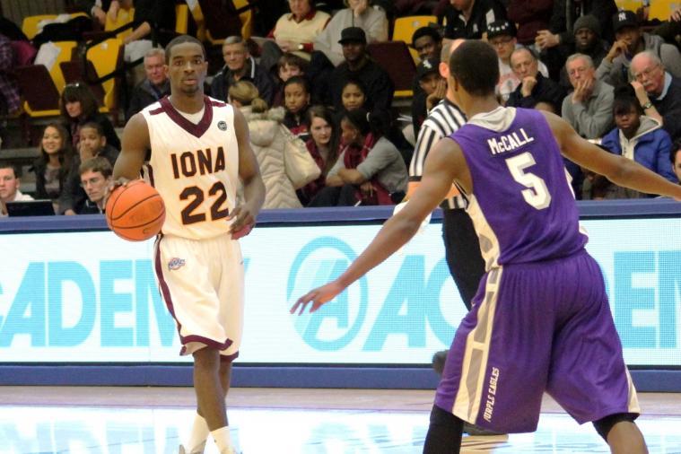 Iona Basketball: Sean Armand Scores Double-Double in 83-72  Win over Niagara