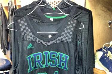 Notre Dame Unveils New Black Uniforms for Tonight's Game vs. Kentucky