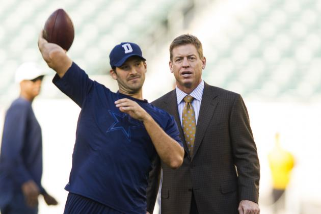 Tony Romo Closing in on Cowboys Record