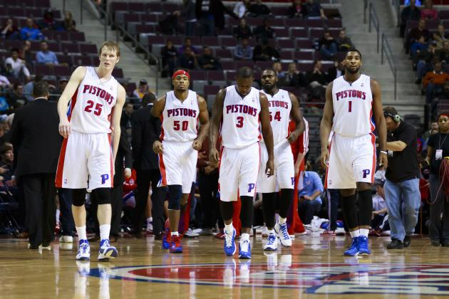 Detroit Pistons' Show of Solidarity After Blowout Win Is Encouraging Sign
