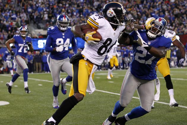 Antonio Brown vs. Percy Harvin: Which WR Should You Trust More in Week 13