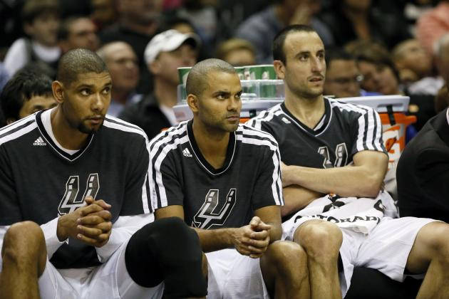 Spurs Resting Tim Duncan, Manu Ginobili and Tony Parker vs. Heat