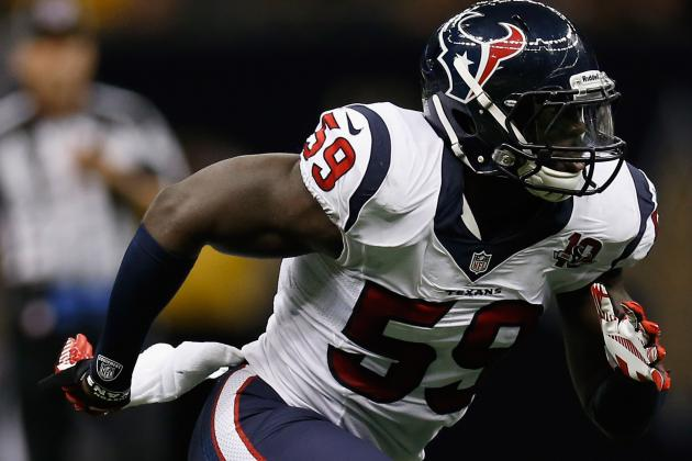 Texans Look to Young LBs as Injuries Mount
