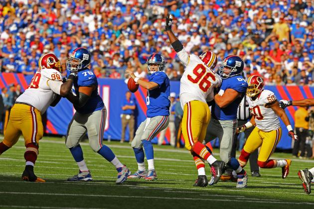 Giants vs. Redskins: Spread Info, Line and Predictions