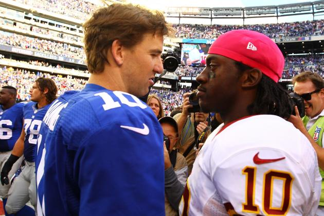 Giants Hope Familiarity with RGIII Provides Edge