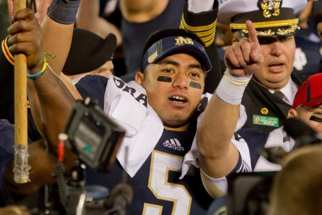 Notre Dame Football: Te'o Talks Title Game, Heisman, More