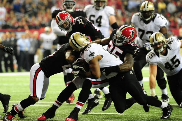 New Orleans Saints vs. Atlanta Falcons: Live Score, Highlights and Analysis