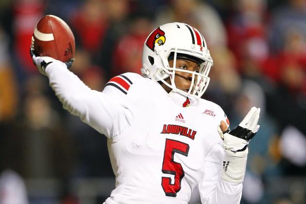 Teddy Bridgewater Rises from the Ashes to Lead Louisville Football to Victory
