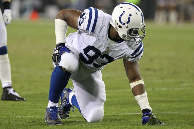Dwight Freeney Has Struggled and Other AFC South Must-Reads
