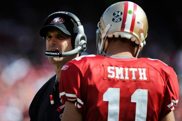 Jim Harbaugh Showing No Loyalty to Alex Smith, and Rightfully so