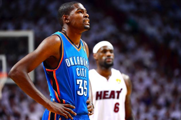 Kevin Durant Channeling Inner LeBron James to Reach New Heights in 2012-13
