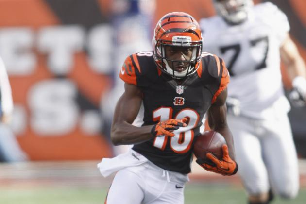 A.J. Green Leads Pro Bowl Voting