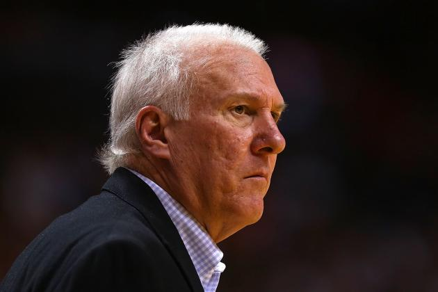 Popovich Says He Understands Fans Concerns When He Sits Stars