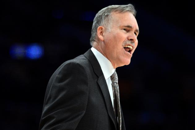 Mike D'Antoni Calls the Los Angeles Lakers' Offense 'Anemic'