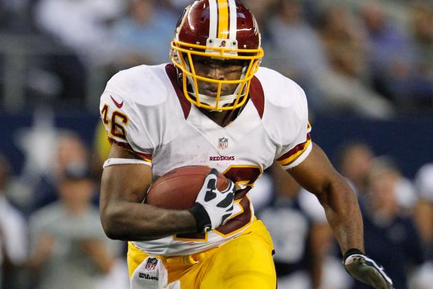 Redskins' Alfred Morris: 'I Was Built for This'