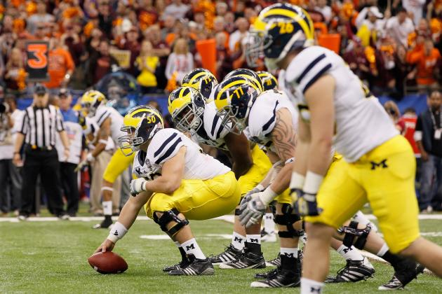 No 'Quick Fixes' for Michigan's Offensive Line, Tailback Issues