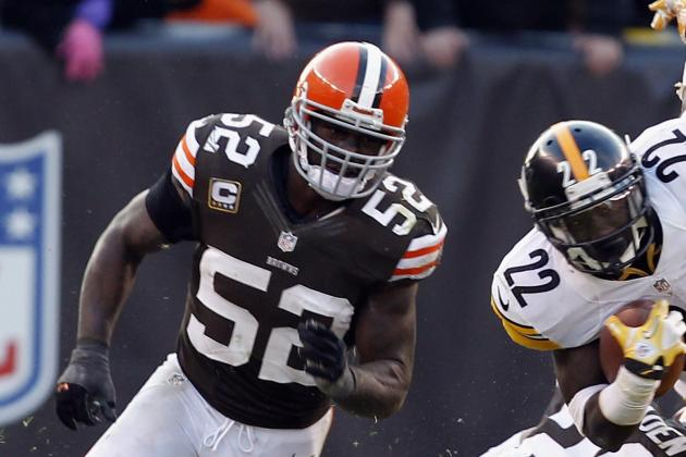 Busy Day for Browns Defense Leads to Award for D'Qwell Jackson