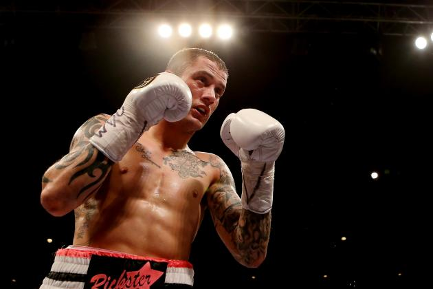 Lightweight Titlist Burns Now to Face Ocampo