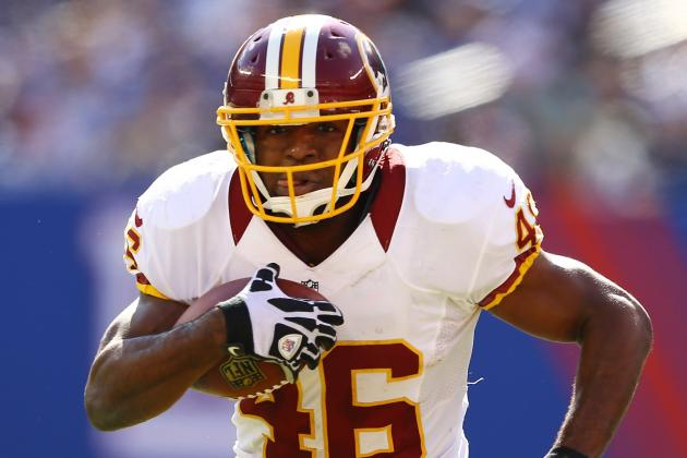 Redskins' Alfred Morris Says He Won't Ever 'Meet the Rookie Wall'