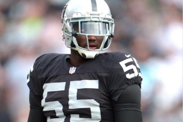 Raiders Suspending Rolando McClain for Conduct Detrimental to Team