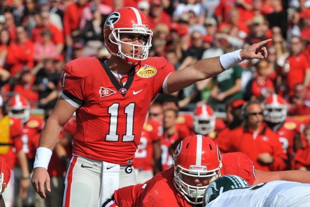 Georgia's Aaron Murray Named a Manning Award Finalist