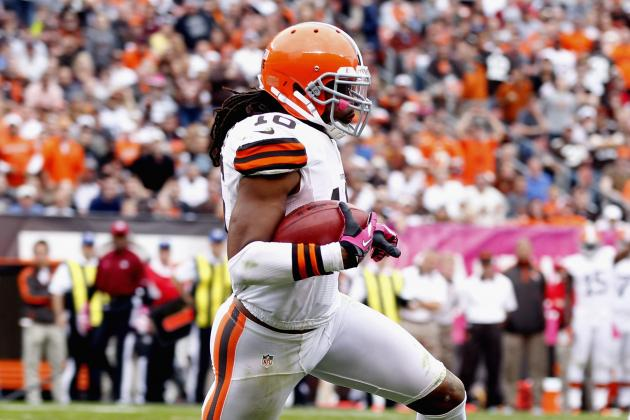 Browns WR Josh Cribbs Returns to Practice Despite Shoulder/Chest Injury